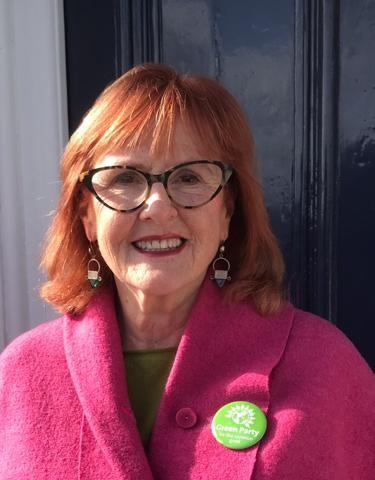Green group leader Paula O'Rourke